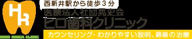 西新井から徒歩3分 医療法人社団晃史会 ヒロ歯科クリニック カウンセリング・わかりやすい説明、最善の治療